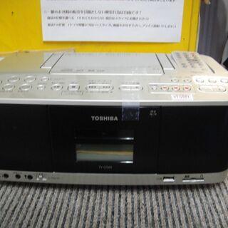 東芝 SD USB CD ラジオカセットレコーダー TY-…