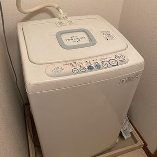 洗濯機 TOSHIBA 4キロ