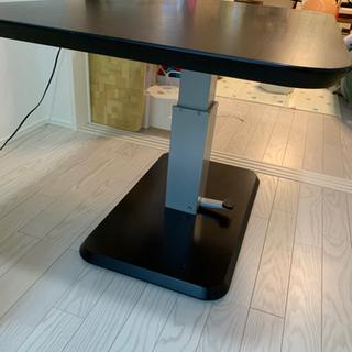 昇降式ダイニングテーブル 75×120