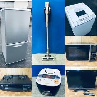 🚛即配達‼⚡️😎家電セット販売😎⚡️送料・設置無料💓高年…