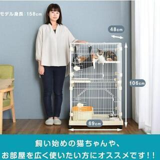 コンパクトな猫ゲージ