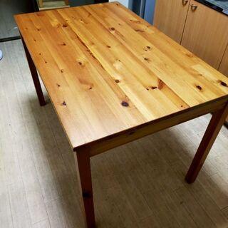 IKEA ダイニングセット テーブル、椅子