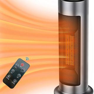 セラミックヒーター 電気ファンヒーター 1200W/600…