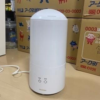 アイリスオーヤマ 超音波式加湿器 樽型UHM-280B-…