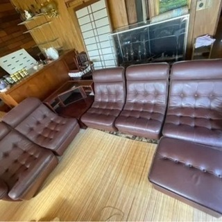 カリモクのソファ貰ってくれる方探してます❗️【貰ってくれる…