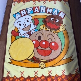アンパンマン ミニ 毛布