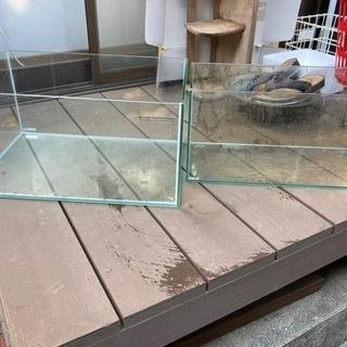 45センチガラス水槽 2本