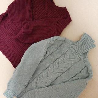 セーター2種