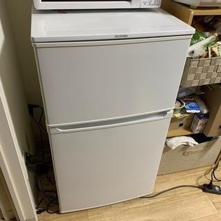 【お譲りします!】アイリスオーヤマ 冷蔵庫 3年使用