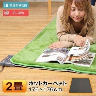 電気カーペット ホットカーペット 2畳