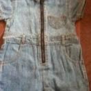 ベビー服 サイズ70 半袖ロンパース