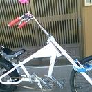 1点物の自転車