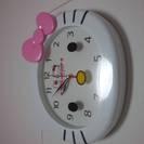 キティちゃん壁掛け時計★値下げ