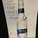 レア 非売品 ZIMAボトル(ディスプレイ用)新品