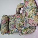 ゴブラン調・薔薇柄の肘付き座椅子☆