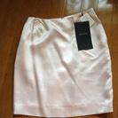 ピンクのミニタイトスカート