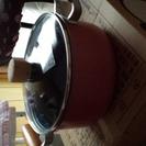 ガス専用の鍋3つ&玉子焼き専用のフライパン
