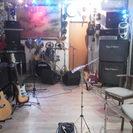 初心者ギター、ベース教室  和太鼓教室