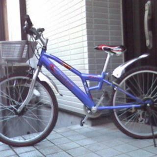 シマノ製変速機付き男児自転車