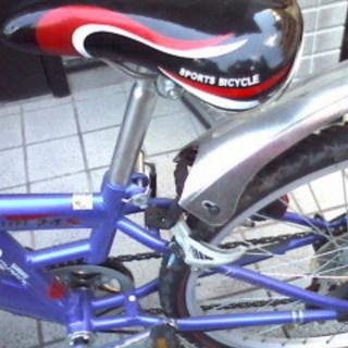 シマノ製変速機付き男児自転車 - 自転車