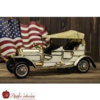 ブリキ玩具 車 クラシックロールスロイス 白