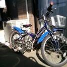 ブリヂストン20インチジュニア用自転車