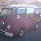 赤色 サンバーディアス クラシック ECVT車