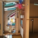 子供用学習机と椅子