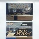 TDKカセットテープSR-X 新品 2本