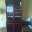 カリモク家具食器飾り棚
