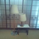 ランプシェードセットです。