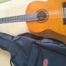クラシックギター  YAMAHA CG-120a カバー付き、綺麗です