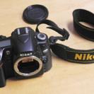 Nikon D80 カメラ ニコン ボディ ストラップ付き