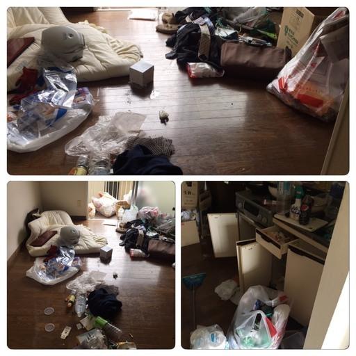 ゴミ屋敷の清掃 承ります。