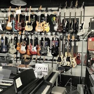 楽器の品揃えも豊富!!