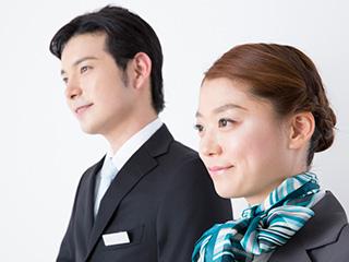 【交通費支給】(1)接客/ホール [ア][パ] (2)清掃作業 ...